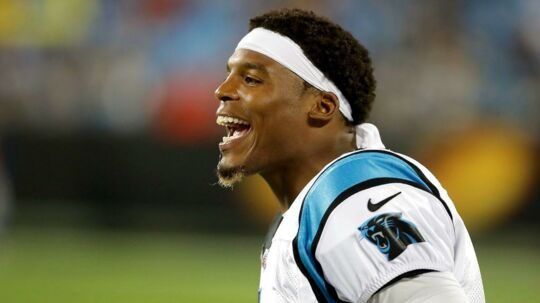 Cam Newton er quarterback for Carolina Panthers