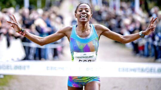 Sylvia Kiberenge vandt sin anden sejr i Eremitageløbet og sigter nu på Frankfurt Marathon.