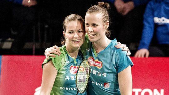 De danske damedouble-spillere Christinna Pedersen og Kamilla Rytter Juhl er kærester.