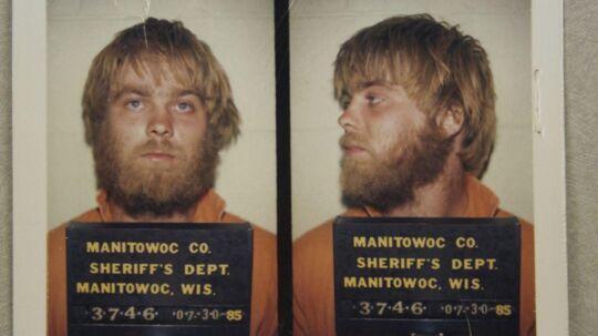 Politiets mugshot fra anholdelsen af Steven Avery i 1985.