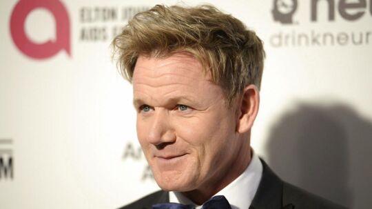Tv-kokken Gordon Ramsay ligger i åben krig med kollegaen Jamie Oliver.
