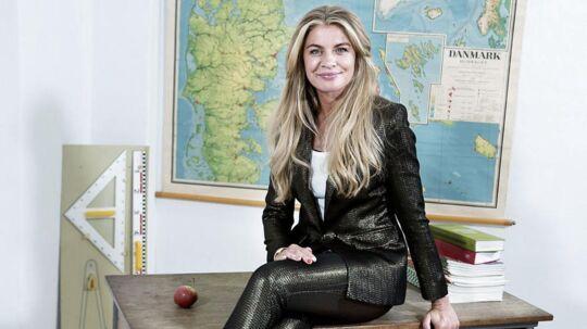 Mille Dinesen har gennem fire sæsoner spillet den egenrådige skolelærer Rita i serien af samme navn.