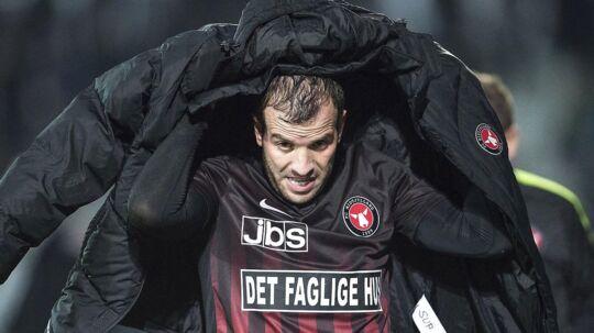 Rafael van der Vaart kom til skade under torsdagens FCM-træning