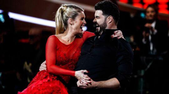 Daniel Svensson og Karina Frimodt har fået et endnu tættere forhold, end de andre par i 'Vild med dans' har på grund af deres fælles fortid, hvor de begge har været ramt af kræft.