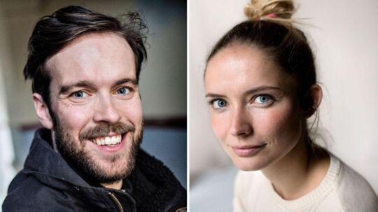 Neel Rønholt og Jens Frederik Sætter-Lassen venter barn nummer to.