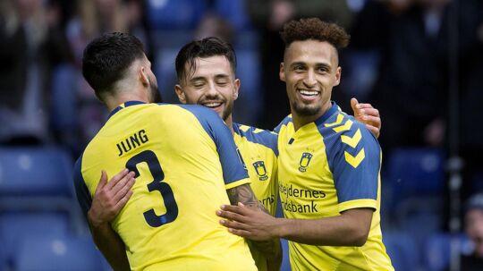 Brøndby vandt 4-1 over Silkeborg.