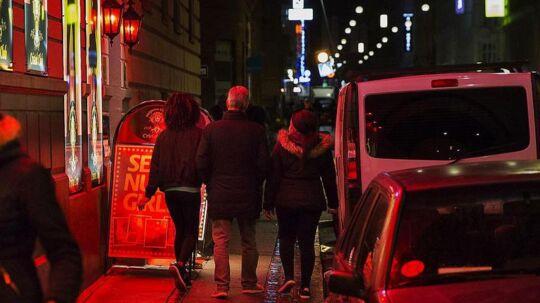Istedgade i København, Lørdag den 14. oktober 2017. Personerne på billedet har ikke nødvendigvis relation til historien, og Sophia er ikke en af dem.