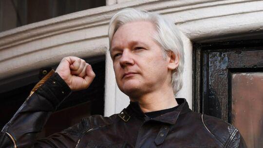 WikiLeaks-stifter Julian Assange takker i et tweet den amerikanske regering for at have bandlyst økonomiske bidrag til whistleblower-organisationen.