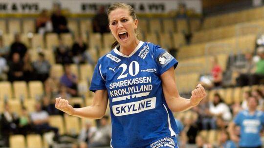 Randers HK må snart undvære storskytten Camilla Dalby, som er blevet gravid.