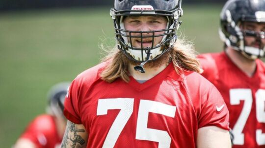 Det kiksede for Andreas Knappe i Atlanta Falcons, men nu kan han i stedet få debut for Washington Redskins.