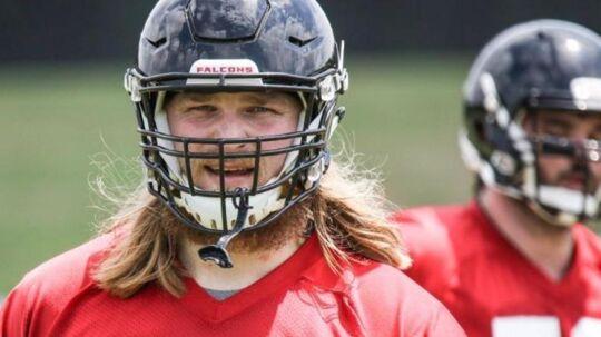 Det kiksede for Andreas Knappe i Atlanta Falcons, men nu kan han i stedet få debut for Washington Redskins.