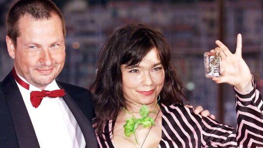 Lars von Trier og Björk.