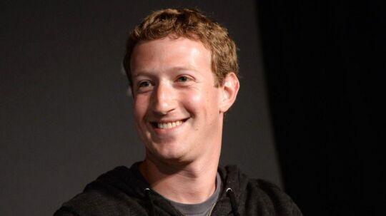 Mark Zuckerberg er god for hele 449 milliarder kroner.