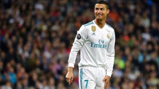 Tirsdag aften scorede Cristiano Ronaldo på straffespark, men det var en særlig detalje inden kamp der stjal opmærksomheden på Twitter.