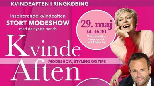 Elisabeth Dalsgaard er én af de fire kendte personer, der er på reklameplakaten for arrangementet, der er blevet ramt af svindel.