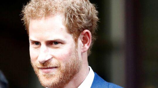 Prins Harry kommer til Danmark i næste uge.