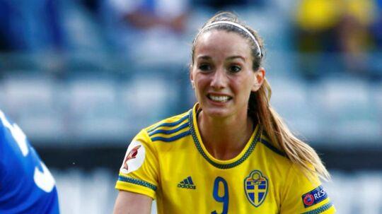 Den svenske landsholdsspiller Kosovare Asllani