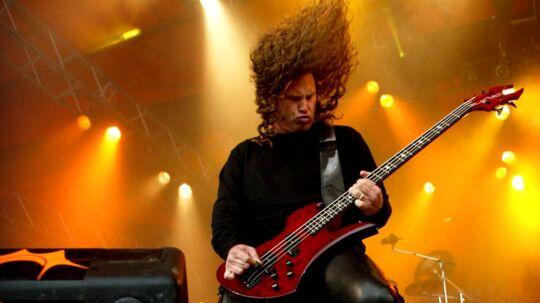 Arkivfoto: Morbid Angel på Roskilde Festival i 2004.