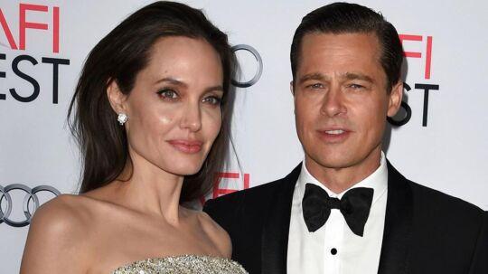 Brad Pitt og Angelina Jolie i 2015.