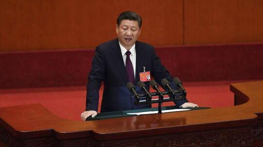 Xi Jinping holdt tale i 3,5 time til åbningsceremonien for Kinas 19. partikongres.
