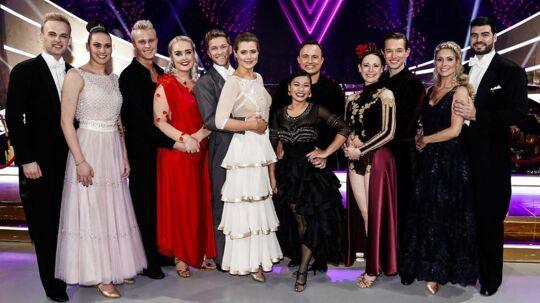 De tilbageværende dansere, Scanpix 2017