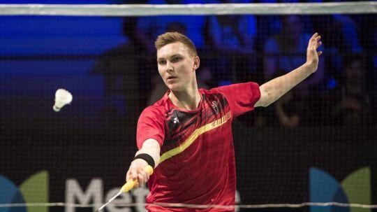 Viktor Axelsen er ude af Denmark Open