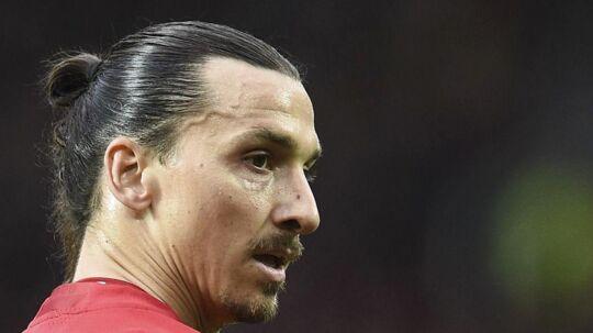 Zlatan Ibrahimovic spiller til dagligt i Manchester United