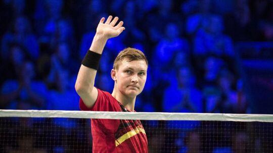 Viktor Axelsen røg fredag ud af Denmark Open.
