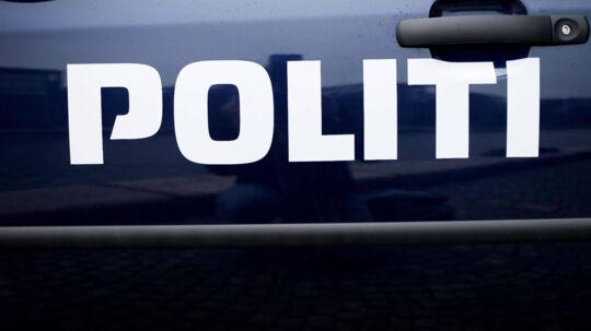 En 55-årig mand blev lørdag eftermiddag stukket ned i en købmandsforretning i Suldrup, syd for Aalborg. Free/Pressefoto Rigspolitiet