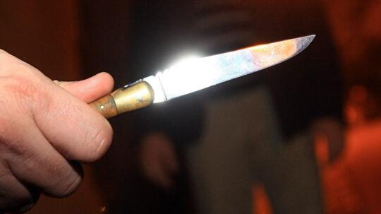 Lørdag aften er to personer kommet til skade i knivstikkeri i Farum. Free/Colourbox/arkiv