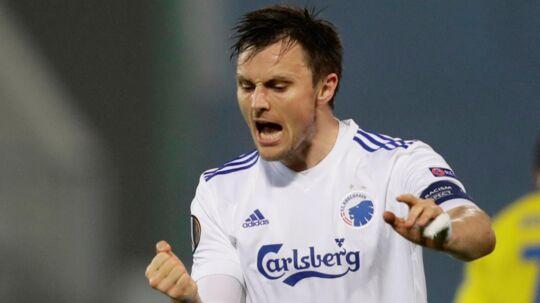 FC København-anfører William Kvist føler sig i fin form for tiden. Reuters/David Cerny