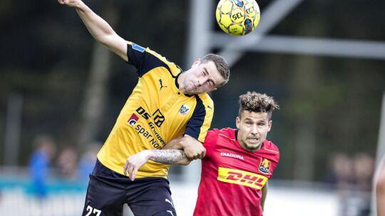 Hobros Mathias Haarup mod FCNs Emiliano Marcondes.