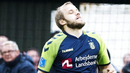 Teemu Pukki scorede sit første mål i tre måneder, da han blev matchvinder mod Helsingør.