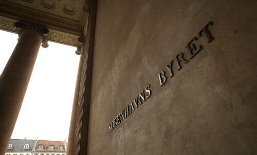 En 43-årig polsk mand er ved Københavns Byret tiltalt for vold mod politiet i forbindelse med landskampen mellem Danmark og Polen. Free/Per Johansen