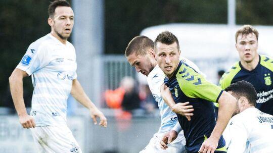 Patrick Olsen mener, at Helsingør burde have fået point med fra kampen mod Brøndby.