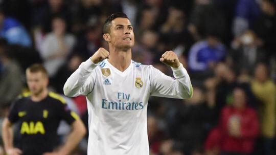 Cristiano Ronaldo er igen kåret som verdens bedste fodboldspiller. Scanpix/Pierre-philippe Marcou/arkiv