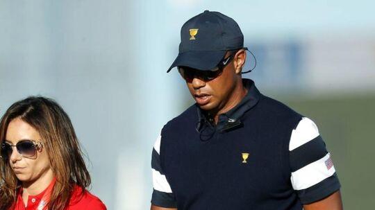 Golfstjernen Tiger Woods på 41 år