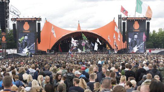 Roskilde Festival har offentliggjort de første ti navne til næste års festival.