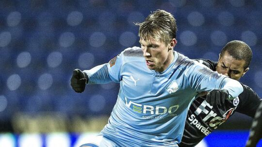 Marvin Pourie scorede to gange for Randers FC.