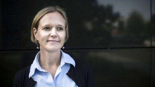 Venstres spidskandidat Cecilia Lonning-Skovgaard var den første til at holde grafis bryllupsreception på Københavns rådhus.
