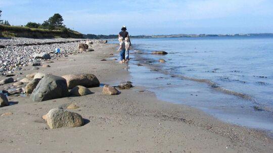 Kalundborg Strand. Arkivfoto.