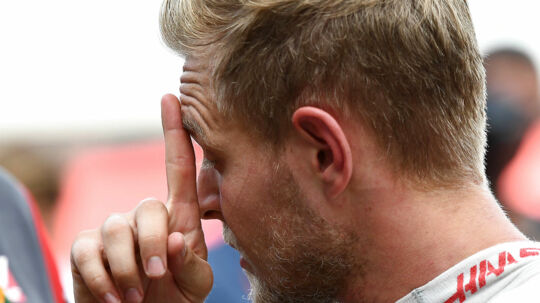 Kevin Magnussen (Haas-Ferrari) after qualifying for the 2017 United States Grand Prix at the Circuit of the Americas outside Austin. Photo: Grand Prix Photo. (Foto: /Scanpix 2017)
