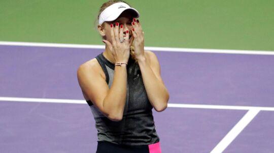 Caroline Wozniacki er kåret til månedens spiller.