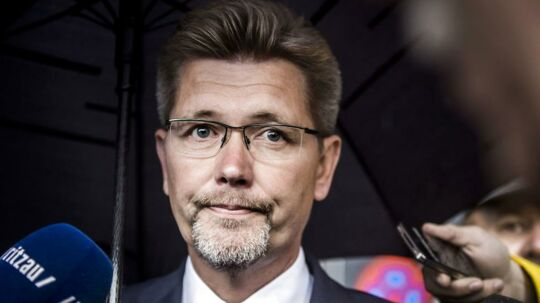 """(ARKIV) Overborgmester Frank Jensen 19. juni 2015. Frank Jensen (S) følte, at det var """"inden for skiven"""", at politikere slap for at betale for lån af rådhus, skriver Ritzau tirsdag 14. november 2017. (Foto: Thomas Lekfeldt/Scanpix 2017)"""