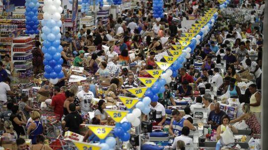 Black Friday: Billedet her er fra Rio de Janeiro, Brasilien. Den 20. oktober.