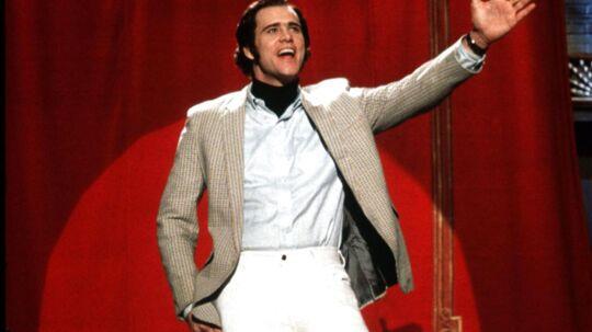 Jim Carrey som Andy Kaufman. Ny Netflix-dokumentar går bag kulissen