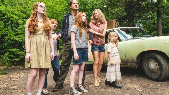 Woody Harrelson i centrum som far til fire Rex i den amerikanske film 'Glasslottet'