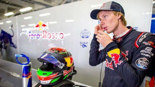 Brendon Hartley har fået et sæde for 2018 hos Toro Rosso.