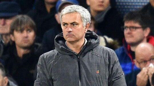 Manchester Uniteds portugisiske manager Jose Mourinho