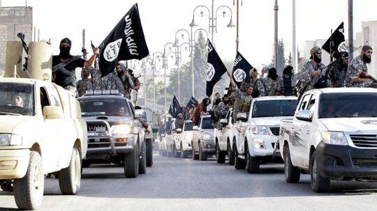 Islamisk Stat i deres storhedstid i 2015.
